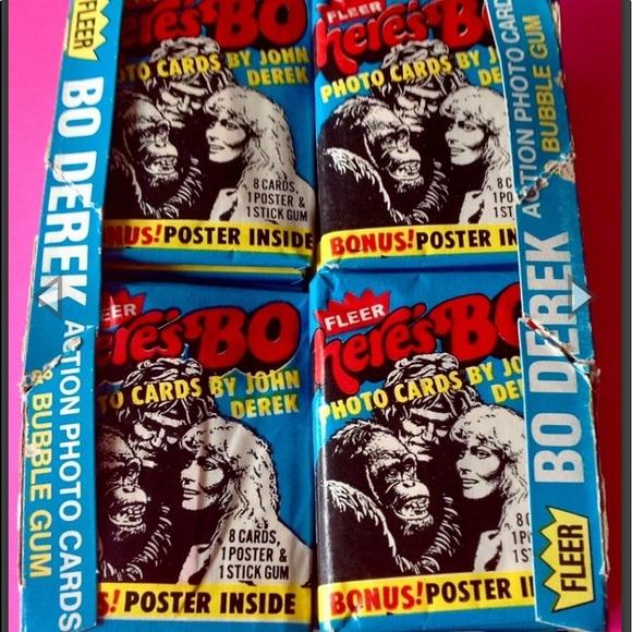 1981 Fleer Here's Bo Trading Cards